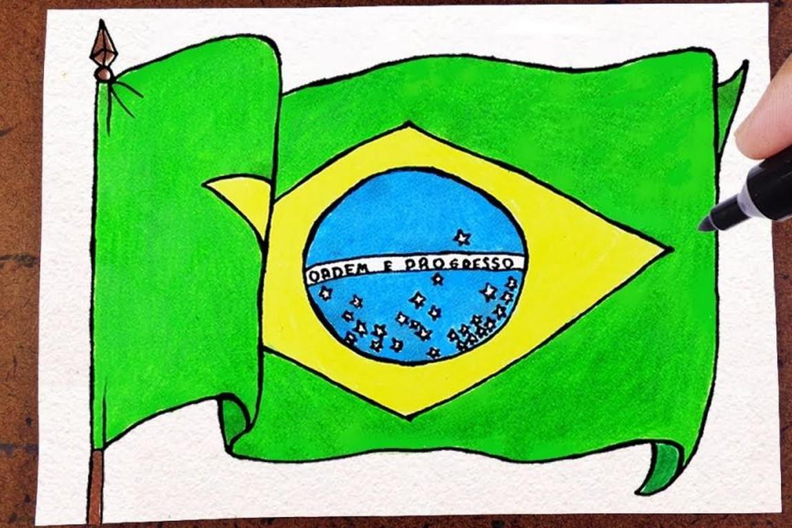 Inscrições para concurso de desenho da Bandeira Nacional começam em 21 de fevereiro