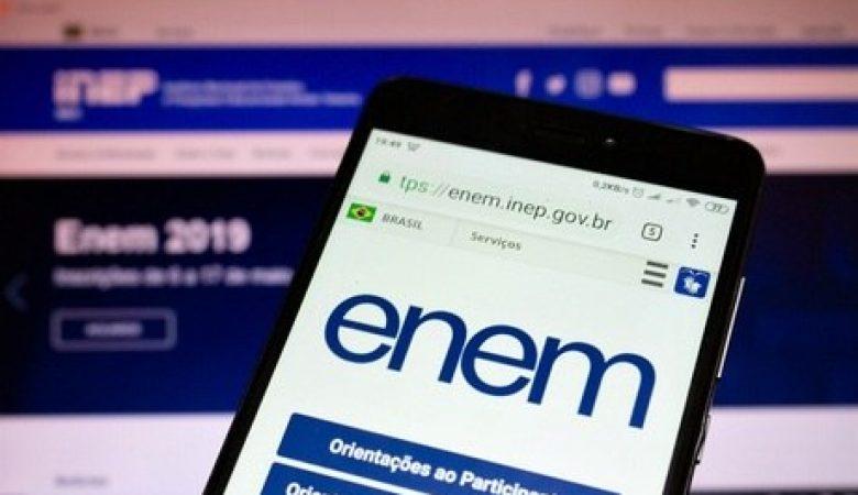 Resultado do Enem será divulgado em 17 de janeiro de 2020
