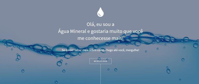 Lançado o Portal da Água Mineral